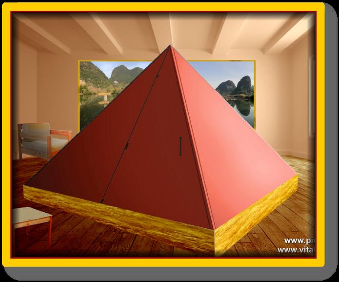 Pyramid faraday